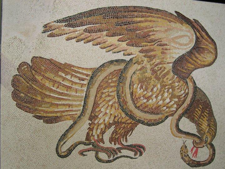 Riproduzione di un Mosaico romano